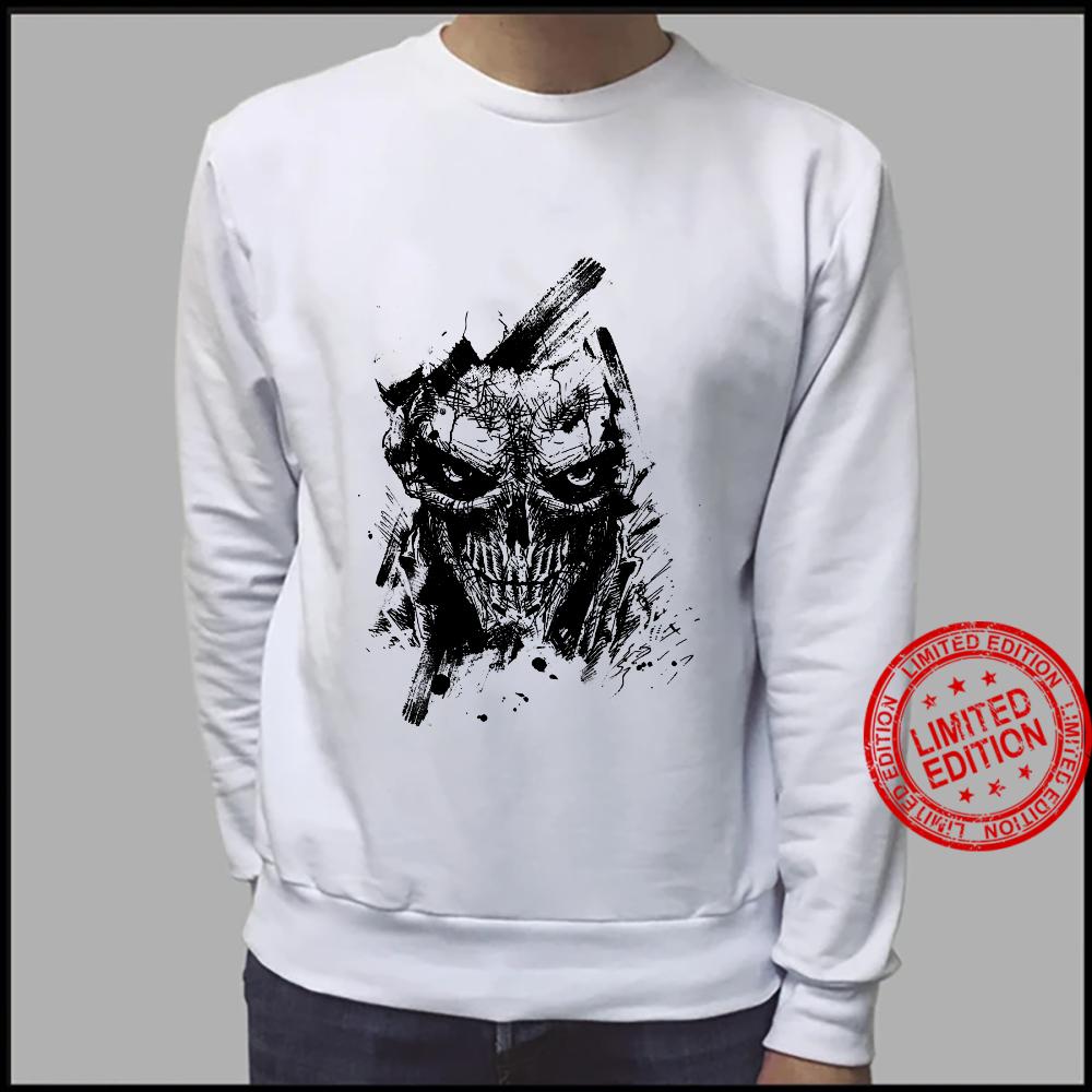 Creepy Zombie Demon Scary Horror Halloween Party Shirt sweater