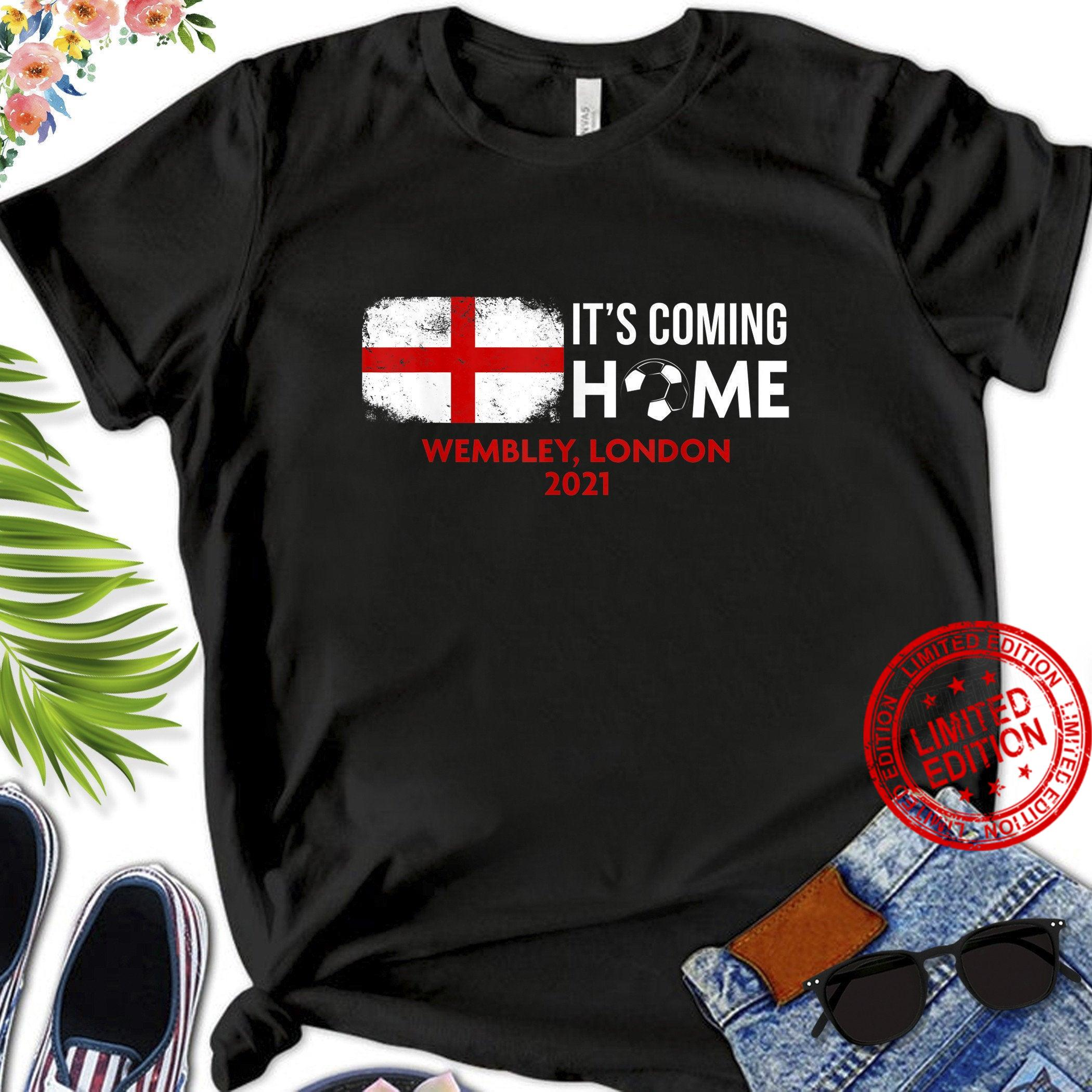 Its Coming Home England Football 2021 Shirt