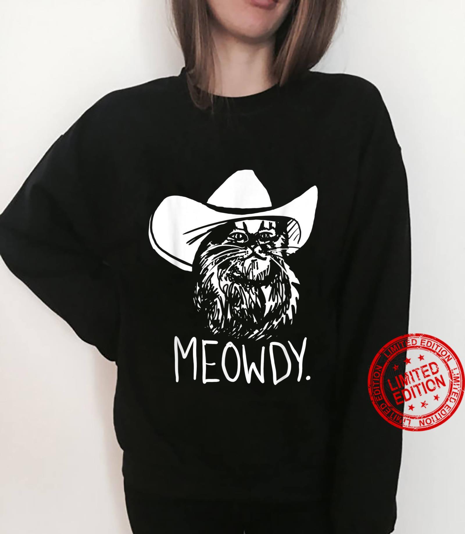 Meowdy Texas Cat Meme Shirt sweater