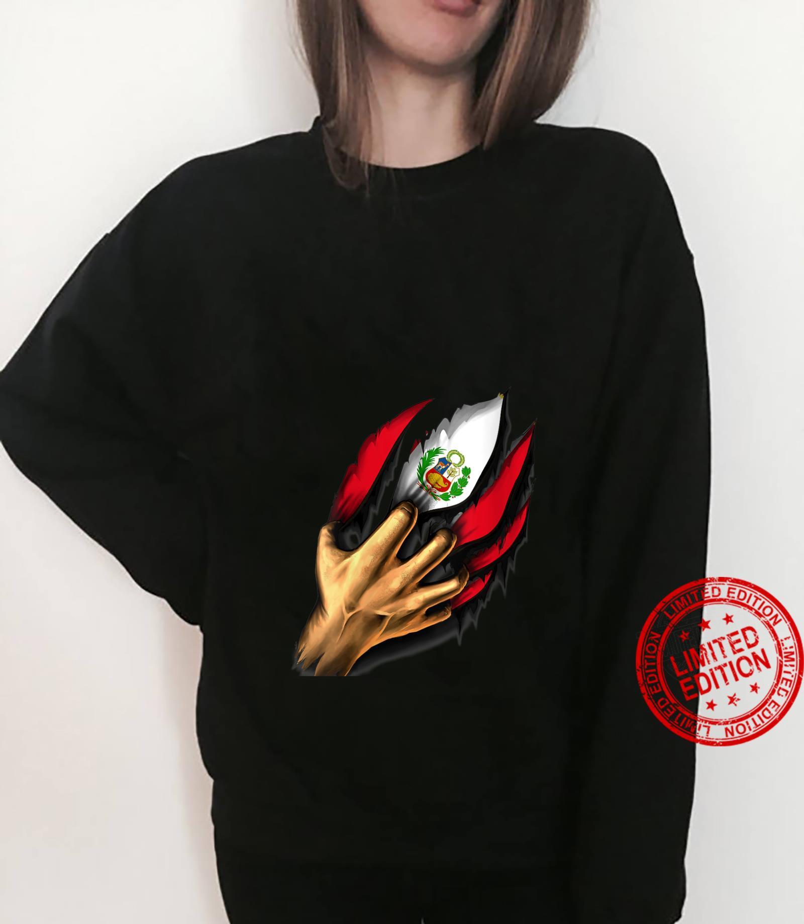 Peru Flag Peruvian Shirt sweater