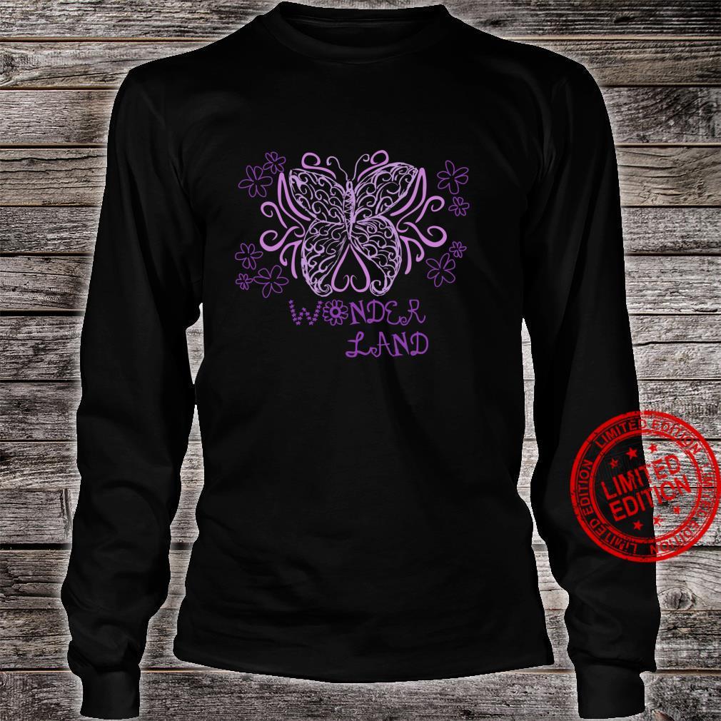 Wonder Flower Butterfly Land Shirt long sleeved