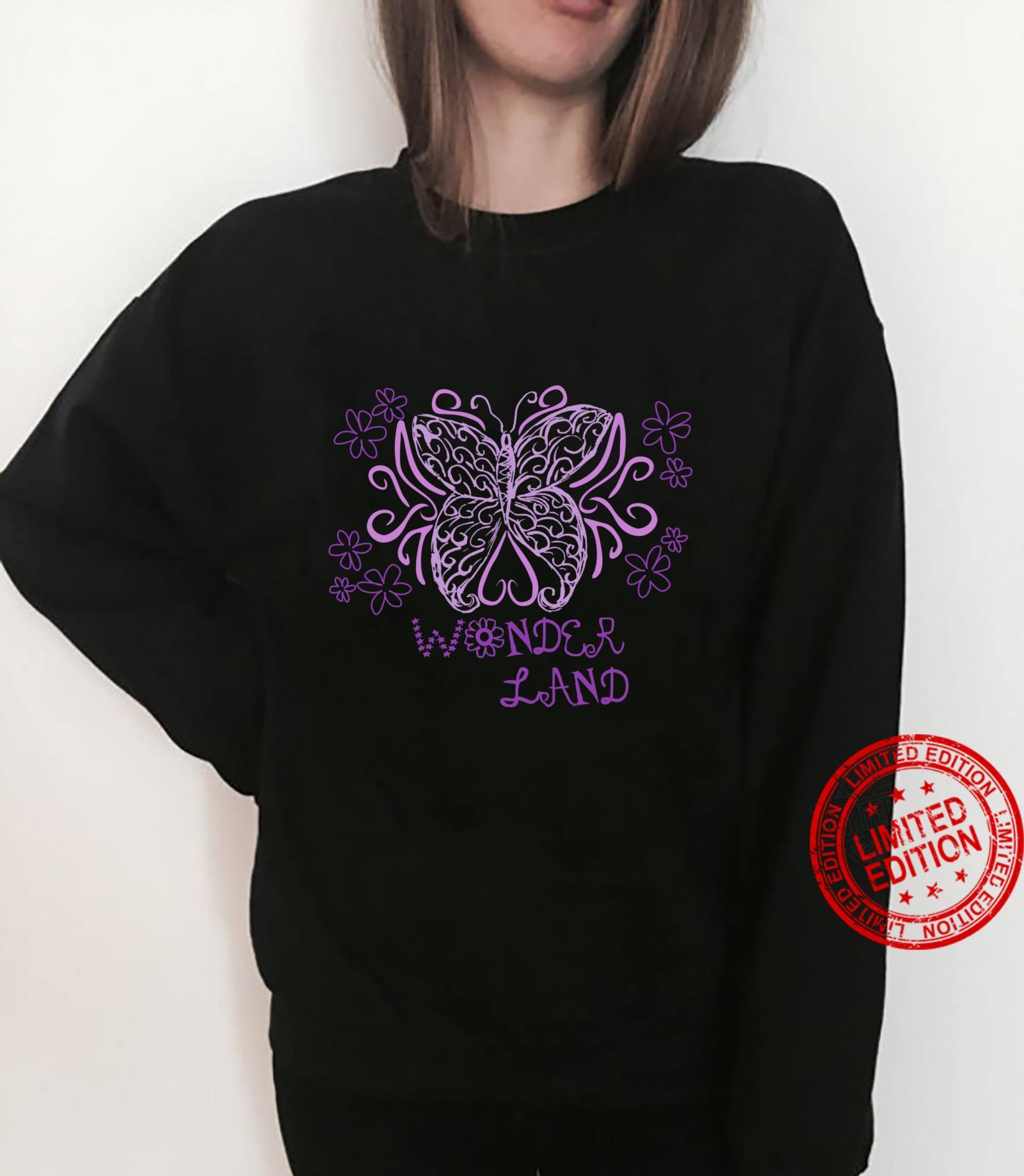 Wonder Flower Butterfly Land Shirt sweater